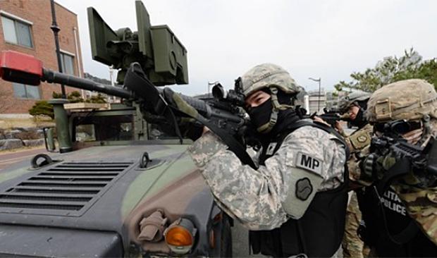키리졸브·독수리(KR·FE) 훈련 모습.