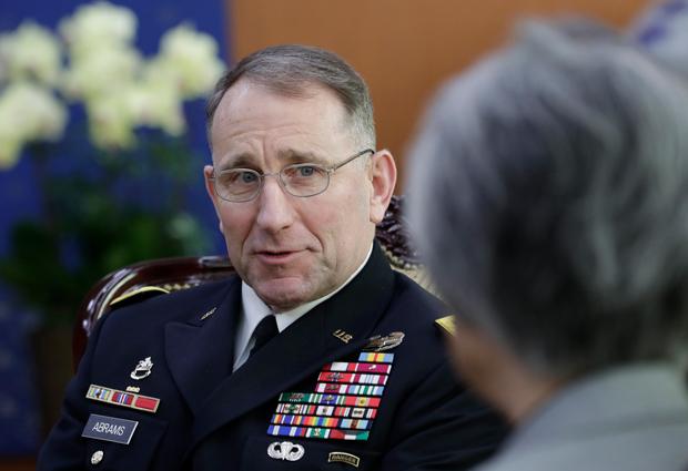 로버트 에이브럼스 주한미군사령관.