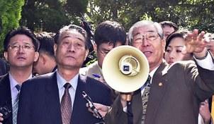 사진은 2010년 화폐개혁 실패의 책임자로 몰려 총살된 북한의 박남기 전 노동당 계획재정부장(왼쪽).