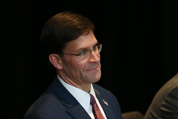 마크 에스퍼(Mark Esper) 미국 국방장관.