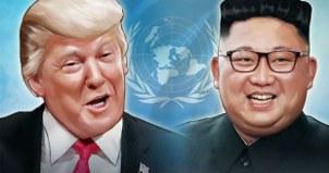 트럼프 대통령과 김정은 국무위원장.