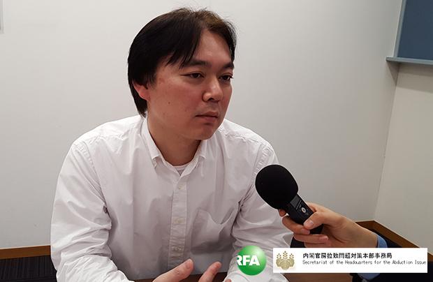 지난 3월 26일 요코하마 마나토미라이에서 만난 이이즈카 코이치로 씨.
