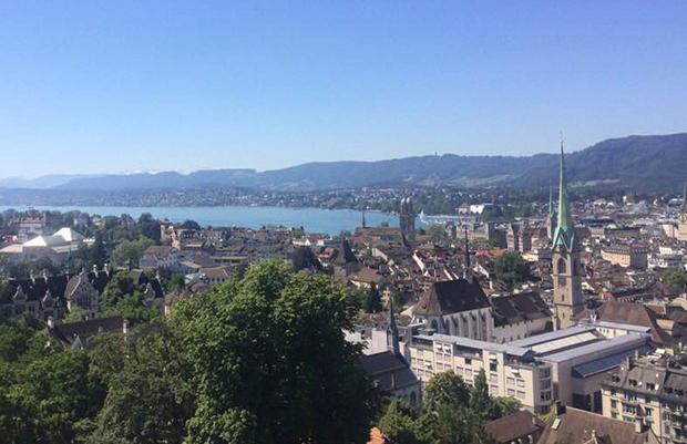 박동주씨가 촬영한 스위스 취리히의 모습. (사진제공: 박동주)