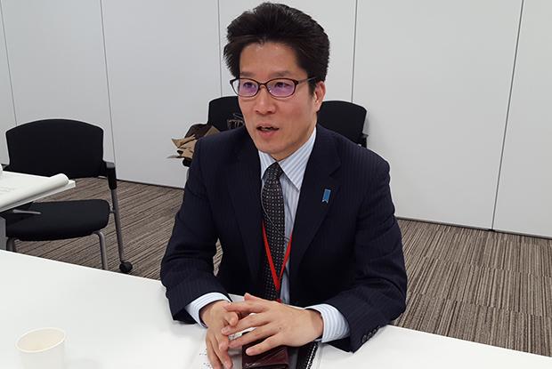 지난 3월 29일 도쿄 납치문제대책본부 회의실에서 만난 요코타 타쿠야 씨.