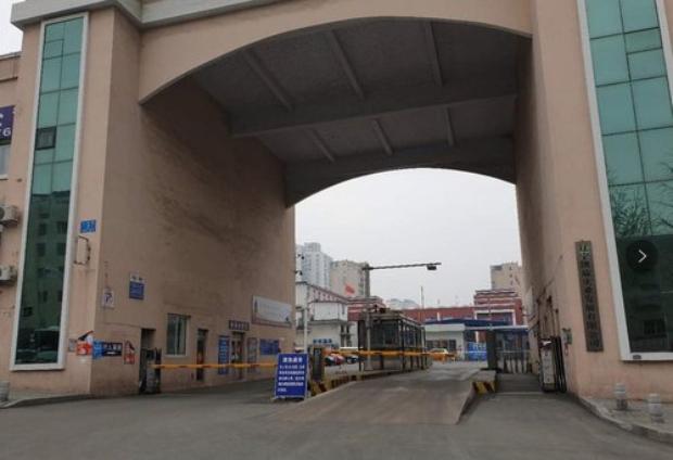 사진은 지난달 19일 북중 접경인 중국 랴오닝성 단둥(丹東) 세관.