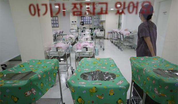 서울 시내 한 병원 신생아실.