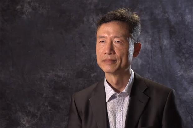 북한민주화네트워크 김영환 연구위원이 자유아시아방송을 방문해 인터뷰를 하고 있다.
