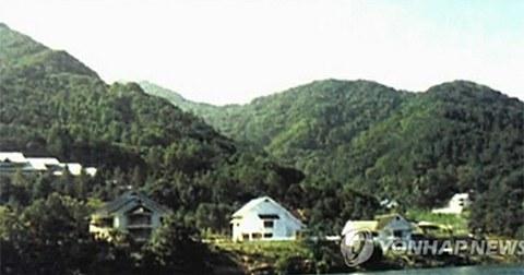 김정일 특각(별장) 모습.
