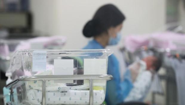 사진은 서울의 한 병원 신생아실.