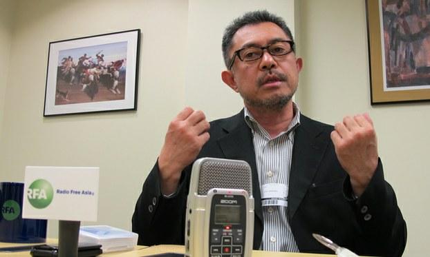북한취재팀을 이끌고 있는 아시아프레스 (ASIA PRESS INTL) 오사카 사무소의 이시마루 지로 대표.